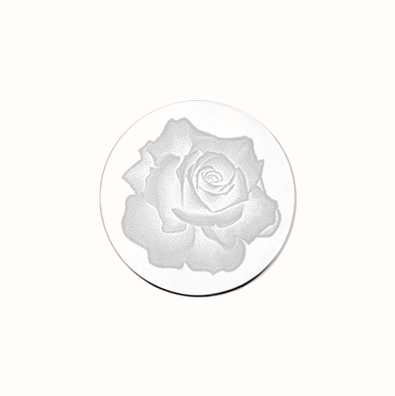 MY iMenso Rose Engraving 24mm Insignia (925) + Glass 24-0274