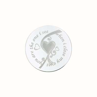 MY iMenso You Are The One Engraving 24mm Insignia (925) + 24-0298