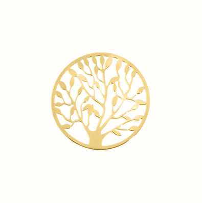 MY iMenso Tree Of Life Cover Insignia 24mm (925/Gold-Plate 24-0481