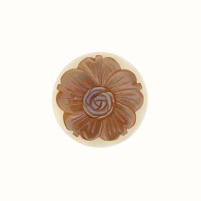 MY iMenso Pink Flower 24mm Shell Insignia 24-0535