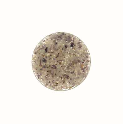 MY iMenso Lavender In Resin 24mm Crushed Shell Insignia 24-0544