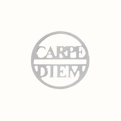 MY iMenso Carpe Diem Cover 24mm Insignia (925/Rhod-Plated) 24-0681