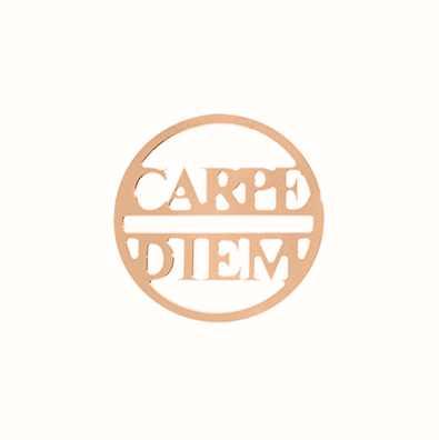 MY iMenso Carpe Diem Cover 24mm Insignia (925/Rosegold-Pla 24-0683