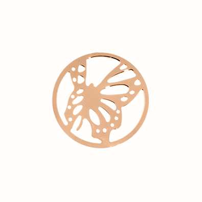 MY iMenso Butterfly Cover 24mm Insignia (925/Rosegold-Plat 24-0695