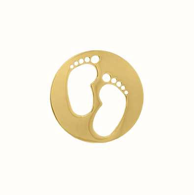 MY iMenso Feet Cover 24mm Insignia (925/Gold-Plated) 24-0724