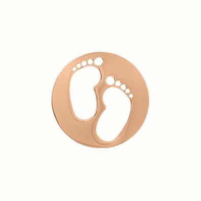 MY iMenso Feet Cover 24mm Insignia (925/Rosegold-Plated) 24-0725