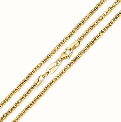 MY iMenso Diabomba Necklace (925/Gold-Plated) 42cm E-Coat 27-0024-42