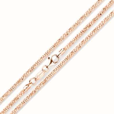 MY iMenso Margherita 45cm Necklace (925/Rosegold-Plated) E 27-0032-45