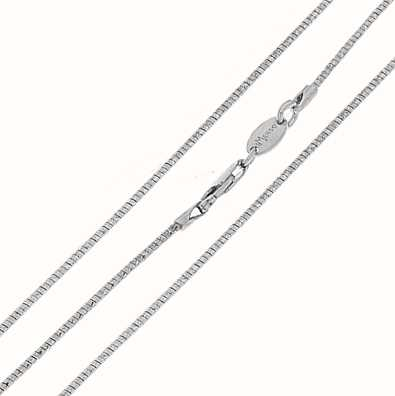MY iMenso Omega Soft 50cm Necklace (925/Rhod-Plated) 27-0033-50