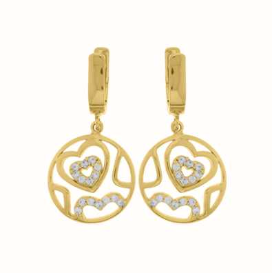 MY iMenso Hearts Earstud (925/Gold-Plated) 27-0505