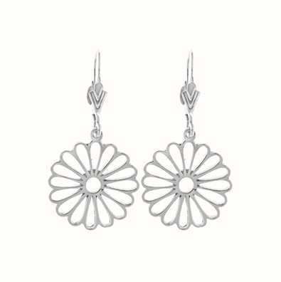 MY iMenso Flower Ear Stud (925/Rhod-Plated) 27-0654