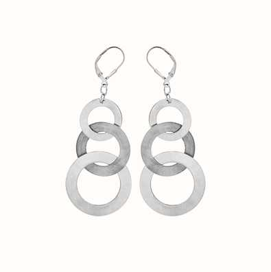 MY iMenso Sphérique 925/Rhod-Plated Earring 27-0893