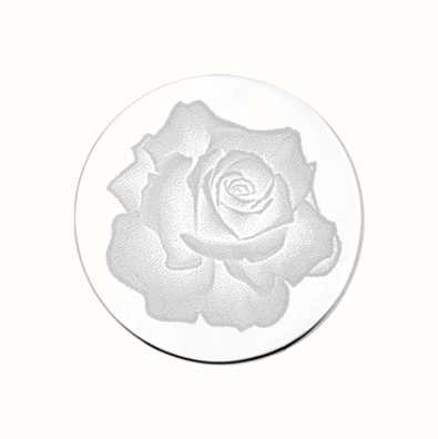 MY iMenso Rose Engraving 33mm Insignia (925) + Glass 33-0274