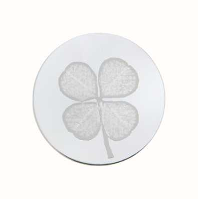 MY iMenso Four-Leaf Clover Engraving 33mm Insignia (925) + 33-0302