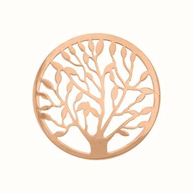 MY iMenso Tree Of Life Cover 33mm Insignia (925/Rosegold-P 33-0482