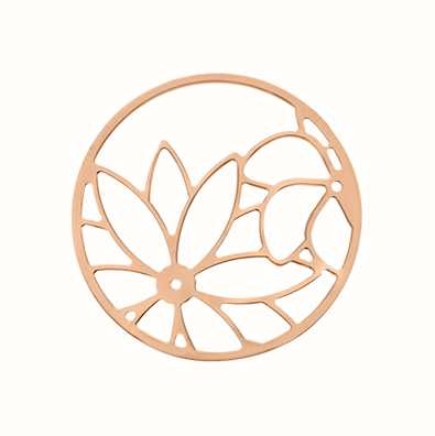 MY iMenso Sunflower Cover 33mm Insignia (925/Rosegold-Plat 33-0722