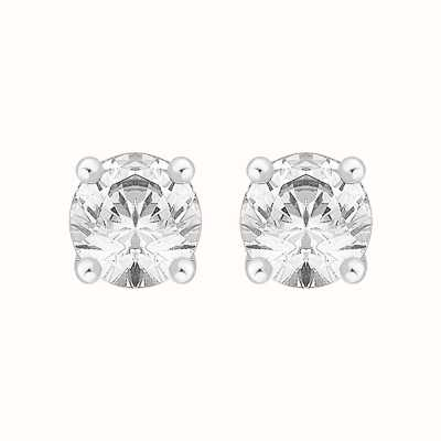 Perfection Swarovski Single Stone Four Claw Stud Earrings (1.50ct) E0150-SK