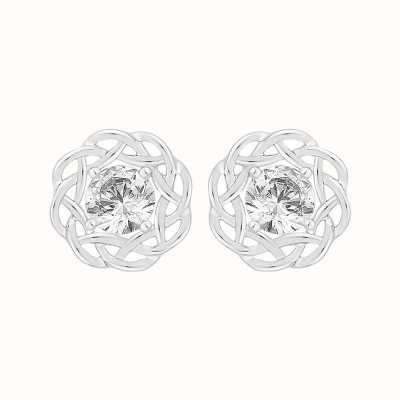 Perfection Swarovski Single Stone Nest Stud Earrings (0.66ct) E4039-SK