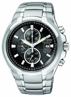Citizen Men's Eco-Drive Titanium CA0260-52E