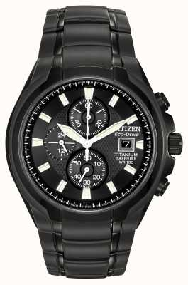 Citizen Mens Eco Drive Titanium CA0265-59E