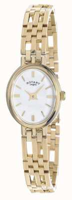Rotary 9ct Gold Elite Precious Metals Oval Dial LB10090/02