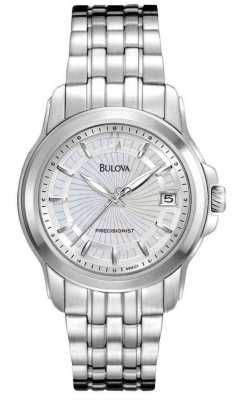 Bulova Womens Precisionist Steel Watch 96M121