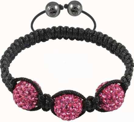 Tresor Paris Pink Crystal Bracelet 016509