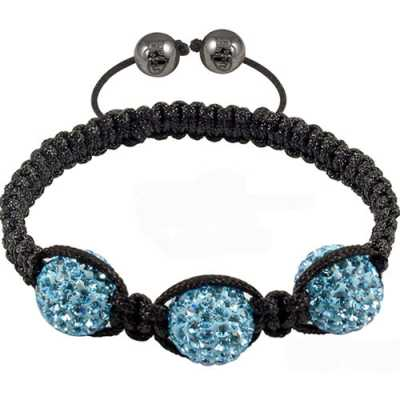 Tresor Paris Blue Crystal Bracelet 016510