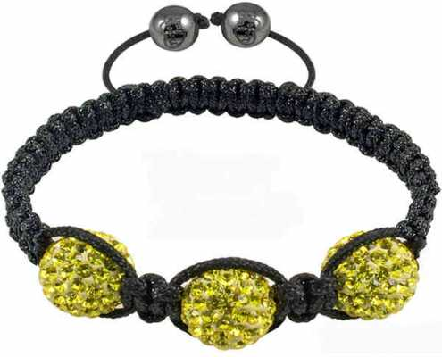Tresor Paris Yellow Crystal Bracelet 016508