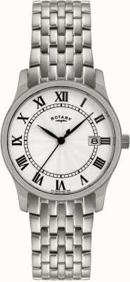 Rotary Mens Silver Tone Steel Watch GBI0792/21