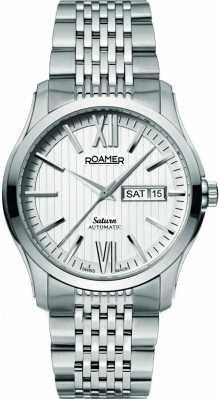 Roamer Mens Stainless Steel Bracelet Watch 941637411390