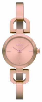 DKNY Womens Rose Gold Stainless Steel Watch NY8542