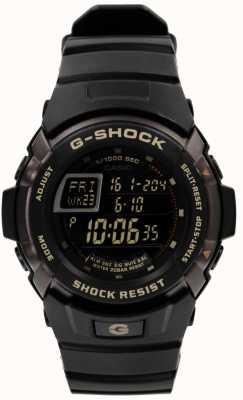 Casio Mens G-Shock Black Chronograph G-7710-1ER