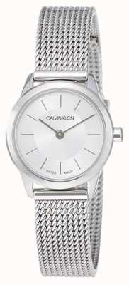 Calvin Klein Womens' Minimal | Stainless Steel Mesh Strap | K3M23126
