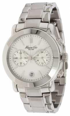Kenneth Cole Womens' Circle Dial Chronograph Watch KC4801