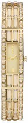 DKNY Glitz Gold Stone Set NY8630