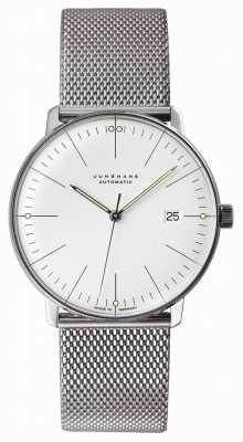 Junghans Max Bill Automatic | Stainless Steel Mesh Strap | 027/4002.44