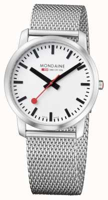 Mondaine Mens Simply Elegant Stainless Steel Watch A638.30350.16SBM