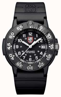 Luminox Mens Original Navy SEAL Military Dive Black XS.3001.F