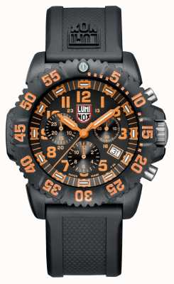 Luminox Navy Seal Chronograph Colormark Series Orange Markers XS.3089