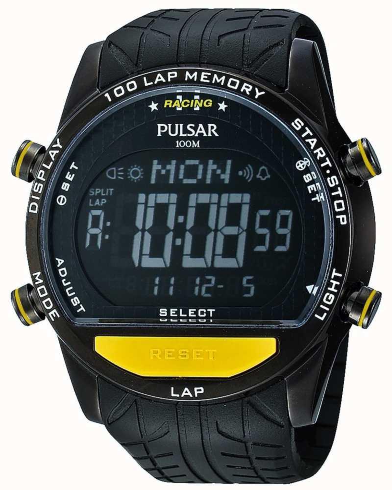 Pulsar Gents Digital Watch Pv4005x1 First Class Watches