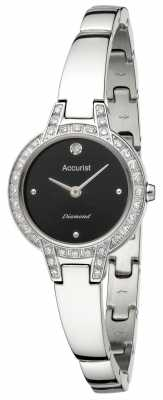 Accurist Womens' Pure Precision Diamond Bracelet Watch LB1585B