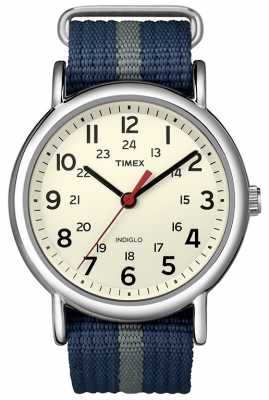 Timex Gent's Indiglo Weekender Watch T2N654