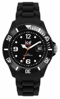 Ice-Watch Unisex Black Silicon SI.BK.U.S