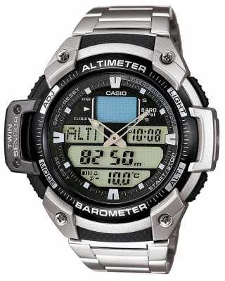 Casio Gent's Sport Gear Alarm Chronograph Watch SGW-400HD-1BVER