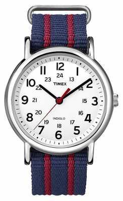 Timex Unisex Indiglo Weekender Watch T2N747