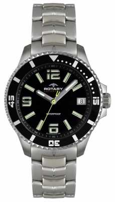 Rotary Gent's Aquaspeed Chronograph Bracelet Watch AGB00074/W/04