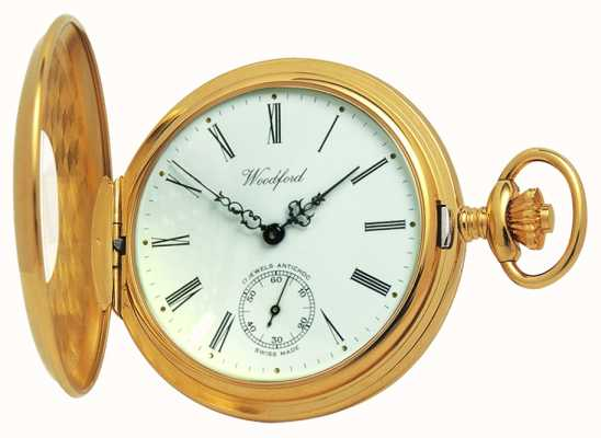 Woodford 1/2 Hunter Pocketwatch 1015