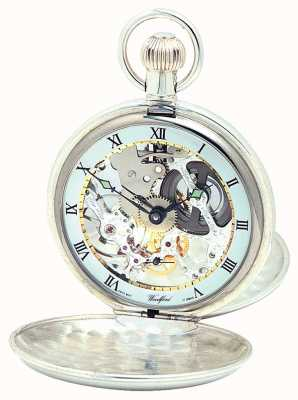 Woodford | Hunter Skeleton | Double Lid | Silver | Pocket Watch | 1002
