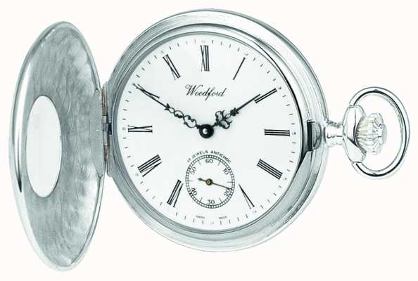 Woodford | Half Hunter | Sterling Silver | Pocket Watch | 1005